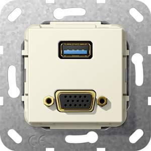 568801 Разъем USB 3.0 A, VGA