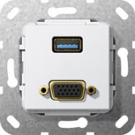 568803 Разъем USB 3.0 A, VGA