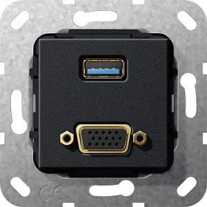 568810 Разъем USB 3.0 A, VGA