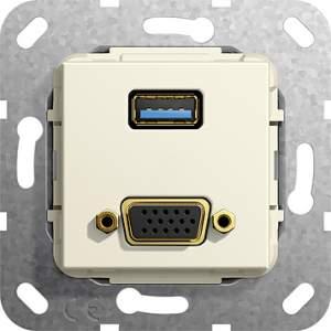 568901 Разъем USB 3.0 A, VGA