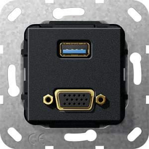 568910 Разъем USB 3.0 A, VGA