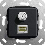 569710 Разъем MJ RJ45 Cat 6A 10 GB, SAT F