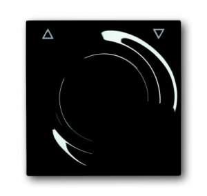 6020-0-1042 (6066-71-101) BJE Impuls Чёрный Бриллиант Накладка светорегулятора с ДУ