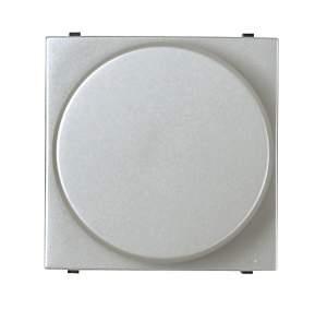 Z2260 PL NIE Zenit Серебро Светорегулятор нажимной 40-450W для л/н и г/л с обмот. тр-ром, 2 мод
