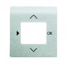 6430-0-0342 BJE Impuls Серебро металлик Накладка для таймера 6455, 6456