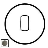 64904 Celiane Графит Клавиша 1-ая для переключателя с рычажком 67016 и кнопки 67036