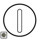 64906 Celiane Графит Клавиша 1-ая для бесшумного переключателя 67013 и кнопки 67033