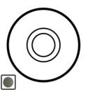64908 Celiane Графит Клавиша 1-ая для нажимного переключателя 67015 и кнопки 67035