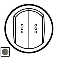 64911 Celiane Графит Клавиша 2-ая с подсветкой