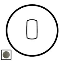 64914 Celiane Графит Клавиша 1-ая с подсветкой для переключателя с рычажком 67016 и кнопки 67036