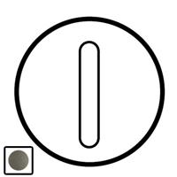 64916 Celiane Графит Клавиша 1-ая с подсветкой для бесшумного переключателя 67013 и кнопки 67033