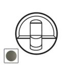 64936 Celiane Графит Накладка розетки RJ-45 двойная