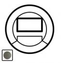 64956 Celiane Графит Накладка датчика движения с световым указателем