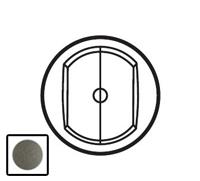 64962 Celiane Графит Накладка выключателя 2-кл с ДУ