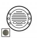 64973 Celiane Графит Лицевая панель для звонка с лампой подсветки 230В
