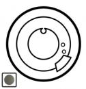 64981 Celiane Графит Накладка термостатапрограммируемого, комнатного