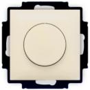 6515-0-0843 (2251 UCGL-92) BJB Basic 55 Беж Светорегулятор поворотно-нажимной 60-400 Вт для л/н