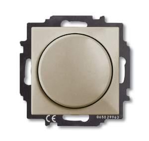 6515-0-0845 (2251 UCGL-93) BJB Basic 55 Шамп Светорегулятор поворотно-нажимной 60-400 Вт для л/н