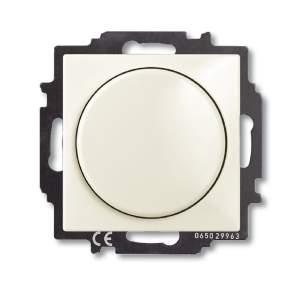 6515-0-0847 (2251 UCGL-96) BJB Basic 55 Шале (бел) Светорегулятор поворотно-нажимной 60-400 Вт для л/н