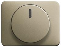 6599-0-2869 (6543-260-102) BJE Alpha Nea/Exl Палладий Накладка светорегулятора клавишного нажимного