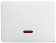 6599-0-2870 (6543-266-102) BJE Alpha Nea/Exl Титан Накладка светорегулятора псевдосенсорного