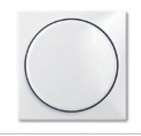 6599-0-2928 (2115-94) BJB Basic 55 Бел Накладка светорегулятора поворотного для механизмов диммеров BJE