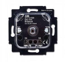 6599-0-2987 BJE Мех Cветорегулятор DALI, поворотный, пассивный