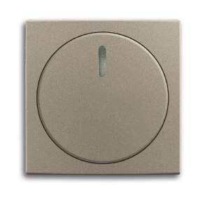 6599-0-2990 (2115-93) BJB Basic 55 Шамп Накладка светорегулятора поворотного для механизмов диммеров BJE