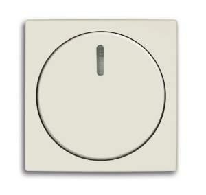 6599-0-2992 (2115-96) BJB Basic 55 Шале (бел) Накладка светорегулятора поворотного для механизмов диммеров BJE