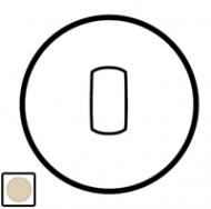 66204 Celiane Беж Клавиша 1-ая для переключателя с рычажком 67016 и кнопки 67036
