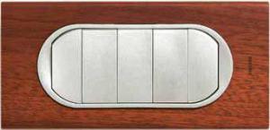 66213 Celiane Беж Комплект клавиш к 5-клавишному выключателю 5 мод с подсветкой