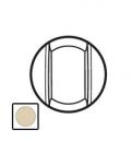 66217 Celiane Беж Лицевая панель для выключателя со шнурком