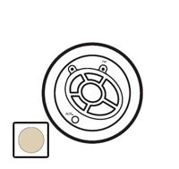 66242 Celiane Беж Лицевая панель для тюнера