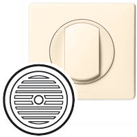66243 Celiane Беж Лицевая панель блока питания тюнера со встроенной колонкой
