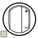 66250 Celiane Беж Накладка светорегулятора нажимного