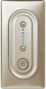 66251 Celiane Беж Накладка светорегулятора нажимного 1000 Вт 5 мод