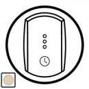 66253 Celiane Беж Накладка таймера-выключателя 67423