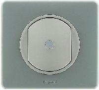66261 Celiane Беж Накладка выключателя простого, приемник-передатчик, PLC/ИК - 2500Вт
