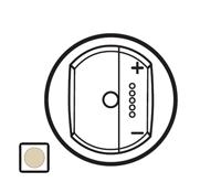 66266 Celiane Беж Накладка светорегулятора с индикацией