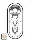 66272 Celiane Беж Лицевая панель для доп. внутреннего аудиоблока