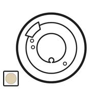 66298 Celiane Беж Накладка терморегулятора теплого пола