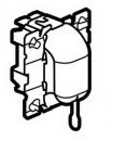 67008 Celiane Мех Переключателя со шнурком, 10А 2 мод (шнур в комплект не входит)