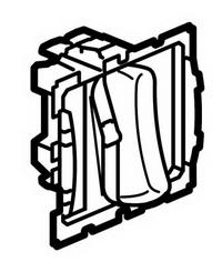 67013 Celiane Мех переключателя бесшумного, 6А 2 мод
