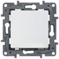 672200 Etika Бел Выключатель/Переключатель IP44 10А