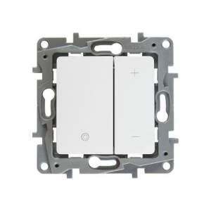 672218 Etika Бел Светорегулятор нажимной, 400Вт