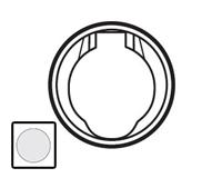 67432 Celiane Бел Розетка с электрическим контактом для централиз.системы пылеудаления