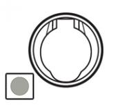 67433 Celiane Титан Розетка с электрическим контактом для централиз.системы пылеудаления