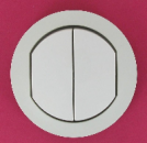 67802 Celiane Клавиша выключателя двойного IP 44