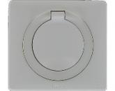 67841 Celiane Бел Накладка розетки c/з IP44 для механизма 67153