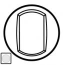 68006 Celiane Бел Клавиша 1-ая для перекрёстного переключателя арт 67006